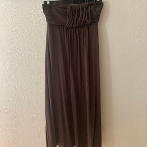 Strapless Matty M dress